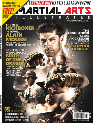 Martial Arts Illustrated March 2018
