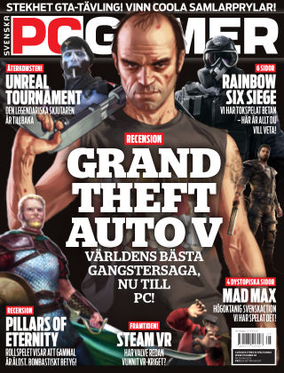 Svenska PC Gamer 2015-05-01