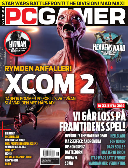 Svenska PC Gamer August 01, 2015 00:00