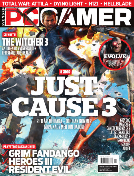 Svenska PC Gamer March 01, 2015 00:00