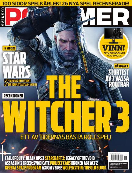 Svenska PC Gamer June 01, 2015 00:00
