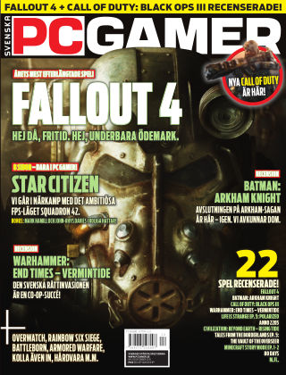 Svenska PC Gamer 2015-12-01