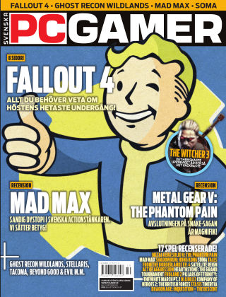 Svenska PC Gamer 2015-10-01
