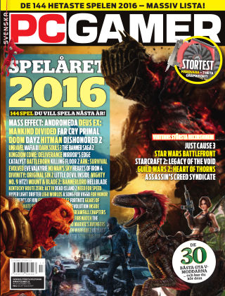 Svenska PC Gamer 2015-12-02