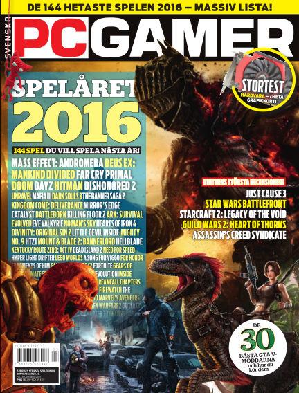 Svenska PC Gamer December 02, 2015 00:00