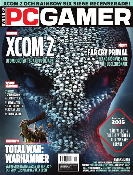 Svenska PC Gamer February 01, 2016 00:00