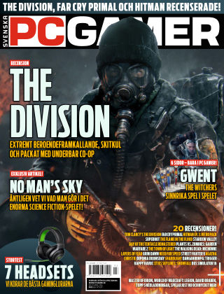 Svenska PC Gamer 2016-04-07