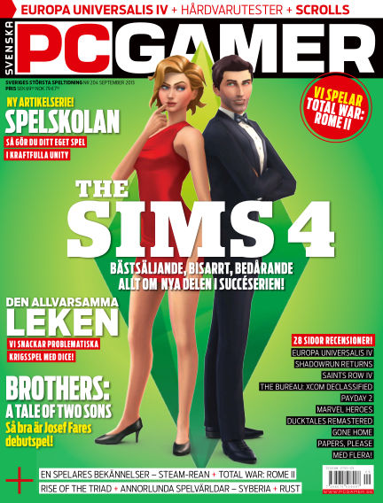 Svenska PC Gamer September 01, 2013 00:00