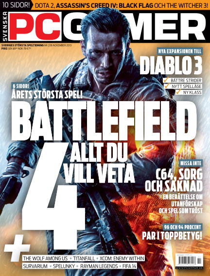 Svenska PC Gamer November 01, 2013 00:00