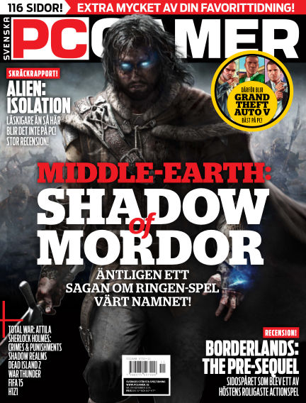 Svenska PC Gamer November 01, 2014 00:00