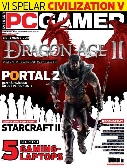 Svenska PC Gamer August 01, 2010 00:00
