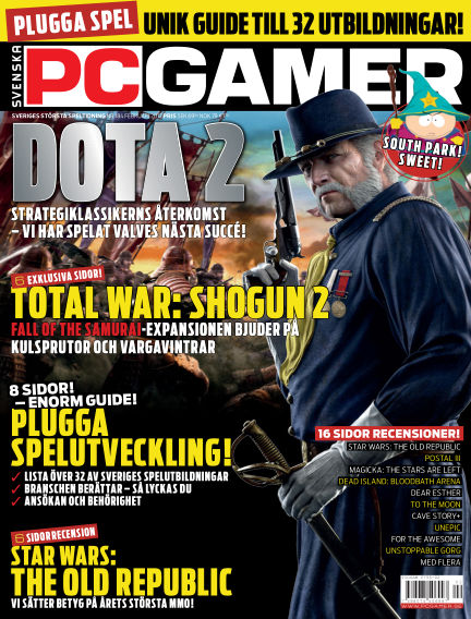 Svenska PC Gamer February 01, 2012 00:00
