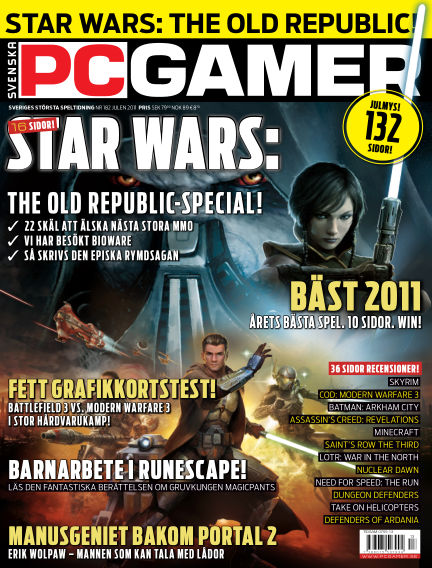 Svenska PC Gamer December 30, 2011 00:00