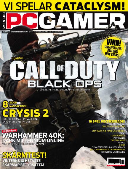 Svenska PC Gamer December 01, 2010 00:00