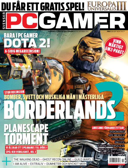 Svenska PC Gamer October 01, 2012 00:00