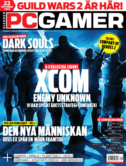 Svenska PC Gamer September 01, 2012 00:00
