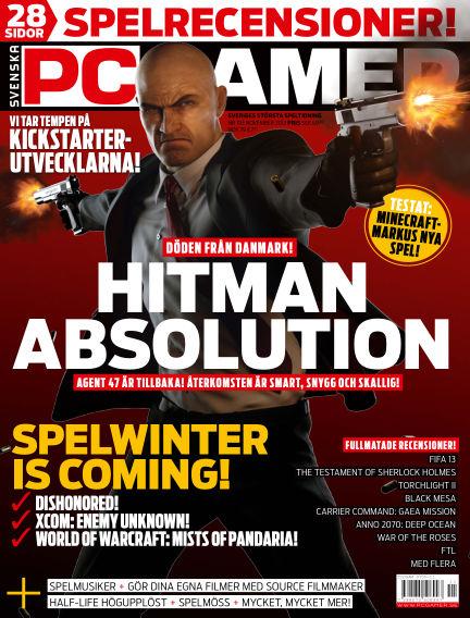 Svenska PC Gamer November 01, 2012 00:00