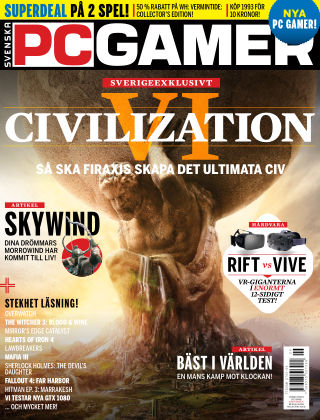 Svenska PC Gamer 2016-07-05