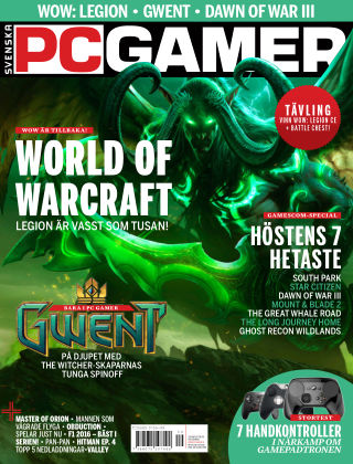 Svenska PC Gamer 2016-10-03