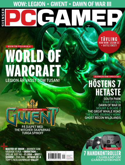 Svenska PC Gamer October 03, 2016 00:00