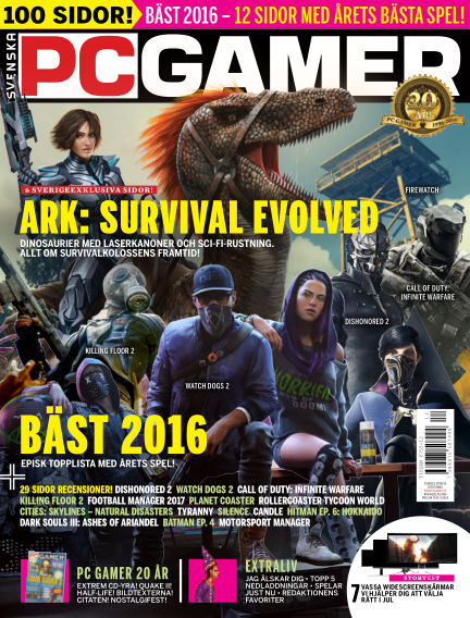 Svenska PC Gamer December 15, 2016 00:00