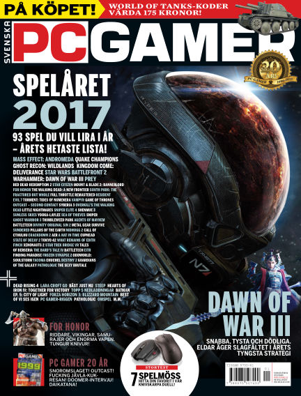 Svenska PC Gamer January 03, 2017 00:00