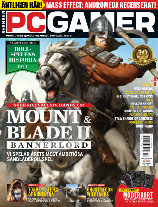 Svenska PC Gamer 2017-04-04