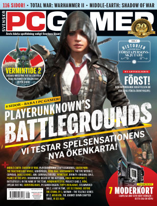 Svenska PC Gamer 2017-11-07