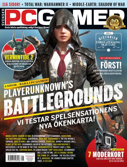 Svenska PC Gamer November 07, 2017 00:00