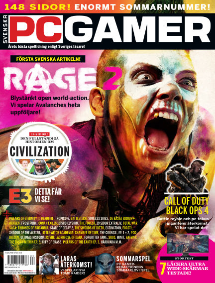Svenska PC Gamer June 13, 2018 00:00