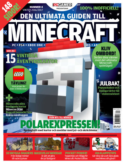 Den ultimata guiden till Minecraft (Inga nya utgåvor) November 29, 2016 00:00