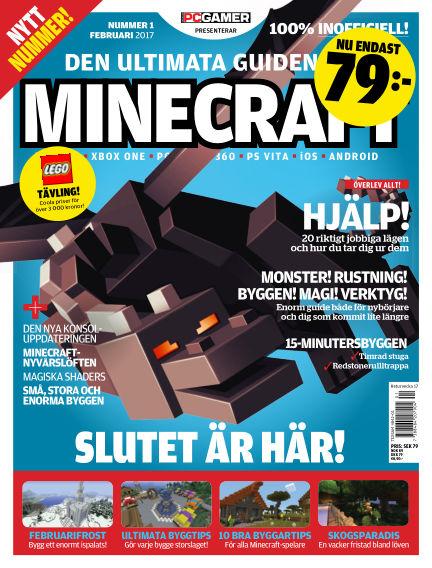 Den ultimata guiden till Minecraft (Inga nya utgåvor) March 01, 2017 00:00