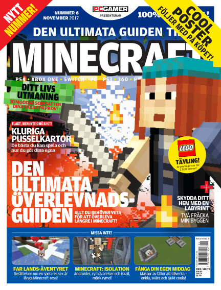 Den ultimata guiden till Minecraft (Inga nya utgåvor) November 16, 2017 00:00