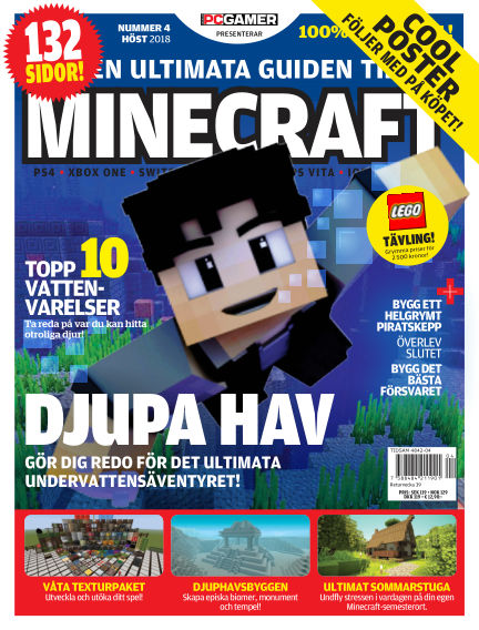 Den ultimata guiden till Minecraft (Inga nya utgåvor) July 19, 2018 00:00