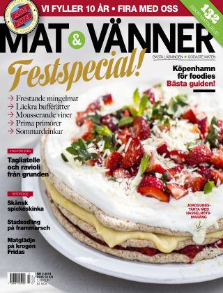 Mat & Vänner (Inga nya utgåvor) 2014-06-03