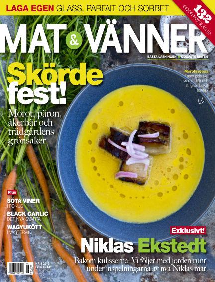 Mat & Vänner (Inga nya utgåvor) June 01, 2013 00:00