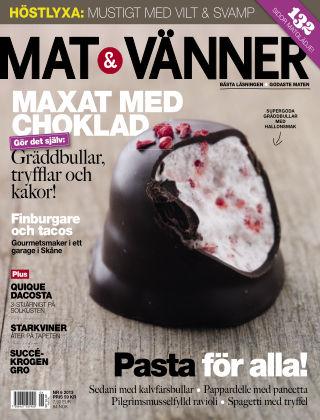 Mat & Vänner (Inga nya utgåvor) 2013-09-01