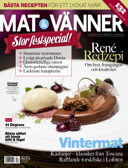 Mat & Vänner (Inga nya utgåvor) December 15, 2013 00:00
