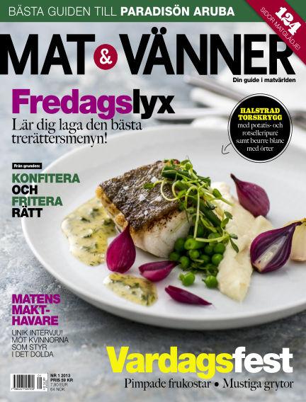 Mat & Vänner (Inga nya utgåvor) January 01, 2013 00:00