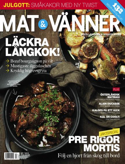 Mat & Vänner (Inga nya utgåvor) November 25, 2013 00:00