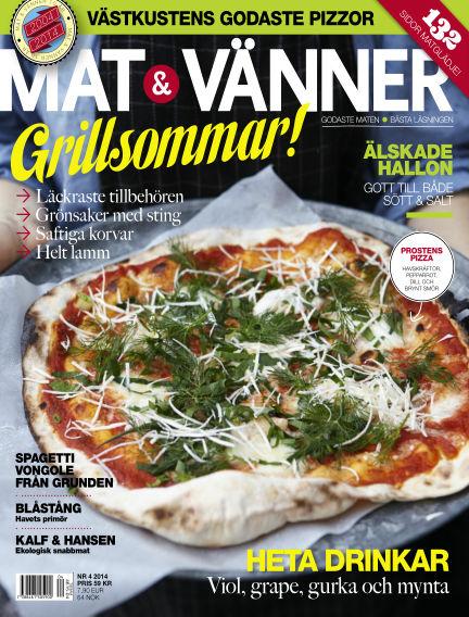 Mat & Vänner (Inga nya utgåvor) July 01, 2014 00:00