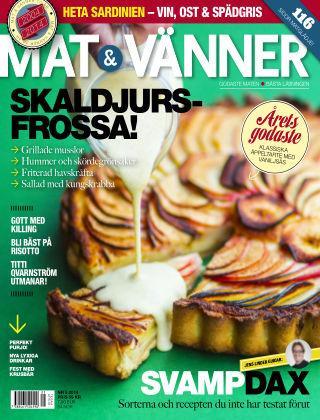 Mat & Vänner (Inga nya utgåvor) 2014-08-22