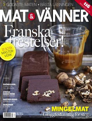 Mat & Vänner (Inga nya utgåvor) 2014-11-07