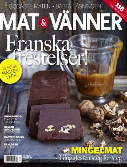 Mat & Vänner (Inga nya utgåvor) November 07, 2014 00:00