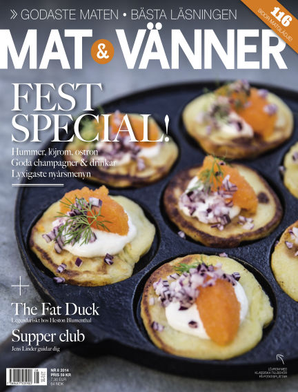 Mat & Vänner (Inga nya utgåvor) December 12, 2014 00:00
