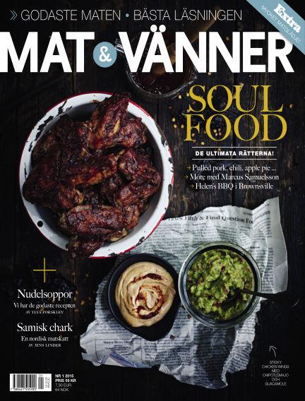 Mat & Vänner (Inga nya utgåvor) January 20, 2015 00:00