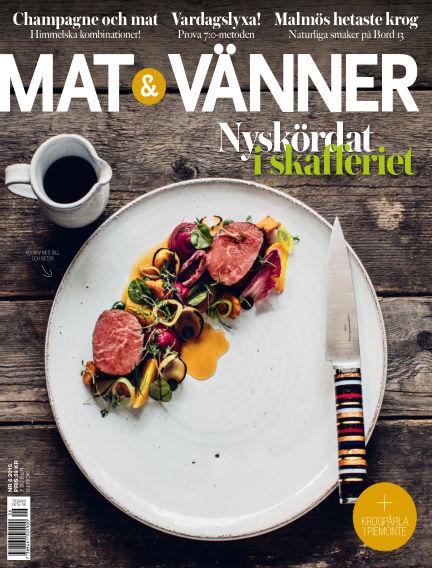 Mat & Vänner (Inga nya utgåvor) September 10, 2015 00:00
