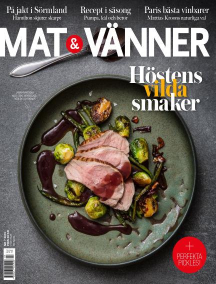Mat & Vänner (Inga nya utgåvor) October 21, 2015 00:00