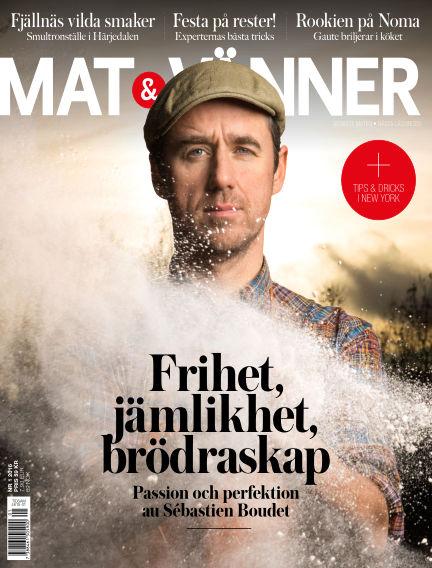 Mat & Vänner (Inga nya utgåvor) February 23, 2016 00:00