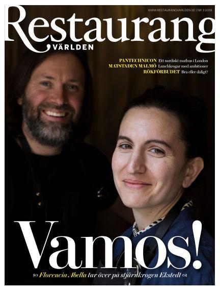 Restaurangvärlden May 20, 2019 00:00